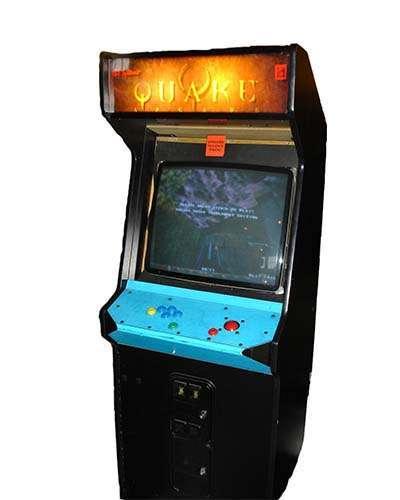 Quake Arcade Prototype arcade game at Joystix