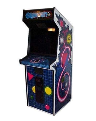 Quantum arcade game at Joystix