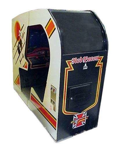 Red Baron arcade game at Joystix