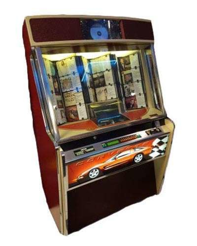 Rockola Corvette Jukebox at Joystix