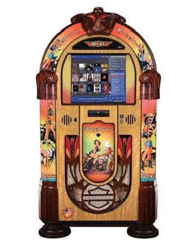 Rock Ola Harley Davidson Music Center Jukebox at Joystix