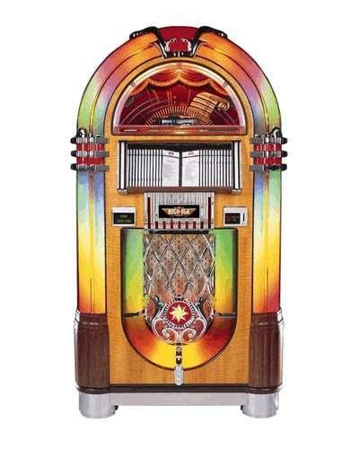 Rock Ola Nostalgia CD Bubbler Jukebox at Joystix