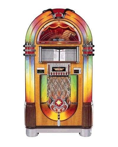 Rock Ola Nostalgia CD Bubbler Jukebox at Joystix