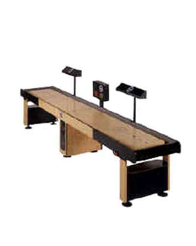 Shoot the Bullet Shuffleboard at Joystix