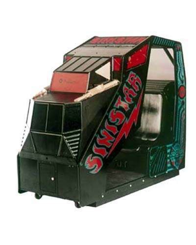 Sinistar cockpit arcade game at Joystix