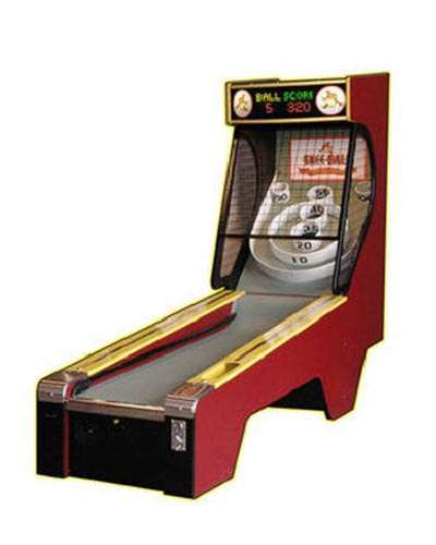 Skee Ball Classic Alley game at Joystix