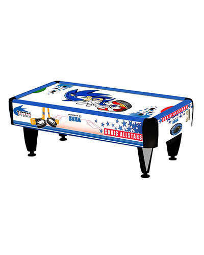 Sonic Air Hockey at Joystix