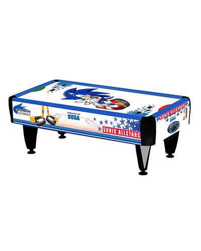 Sonic Air Hockey at Joystix