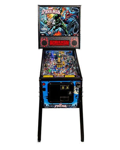 Spiderman Vault Edition pinball at Joystix 3