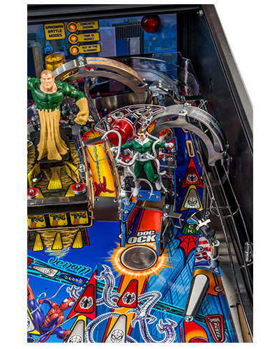 Spiderman Vault Edition pinball details at Joystix 2