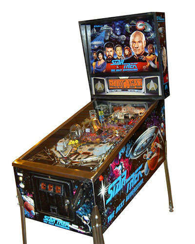 Star Trek The Next Generation pinball at Joystix