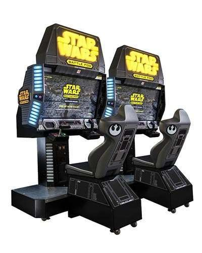 Star Wars Battle Pod flat screen edition at Joystix