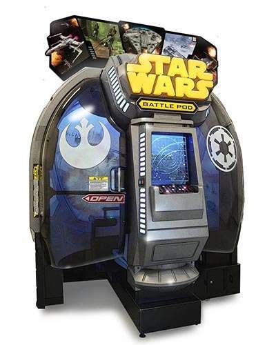 Star Wars Battle Pod game at Joystix