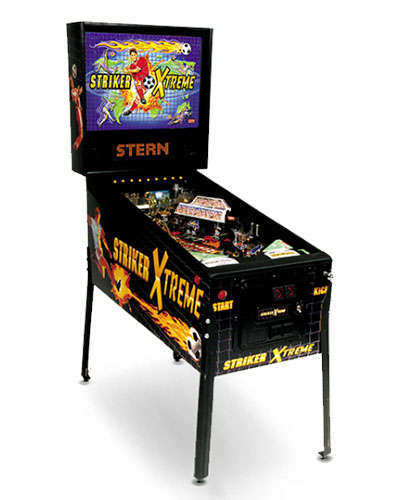 Striker Extreme pinball at Joystix