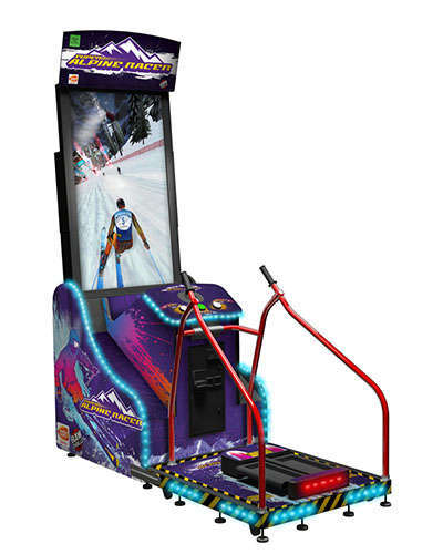 Super Alpine Racer game at Joystix