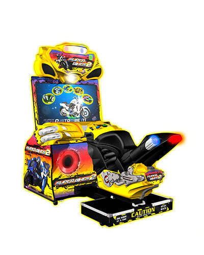 Superbikes 2 racing game at Joystix