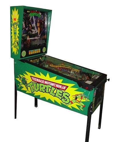Teenage Mutant Ninja Turtles Pinball at Joystix