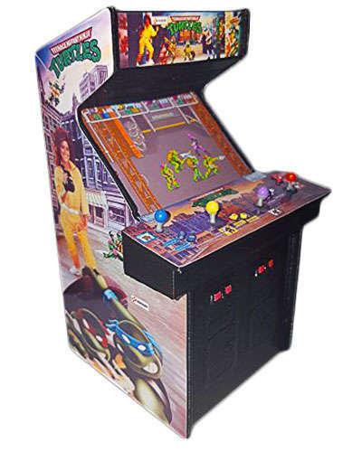 Teenage Mutant Ninja Turtles arcade game at Joystix