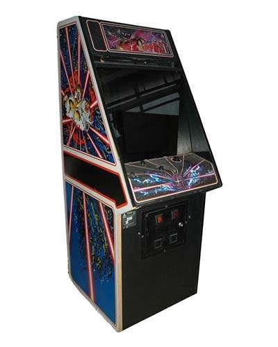 Tempest arcade game at Joystix