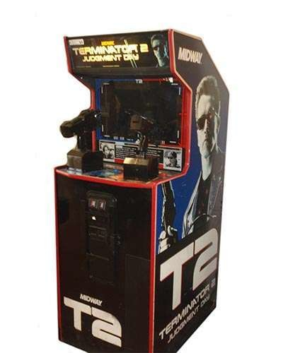 Terminator 2 Judgement Day arcade game at Joystix