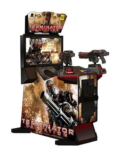 Terminator Salvation 32 in arcade game at Joystix