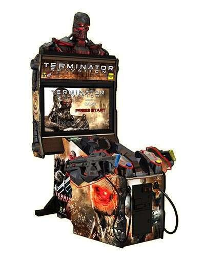 Terminator Salvation arcade game at Joystix