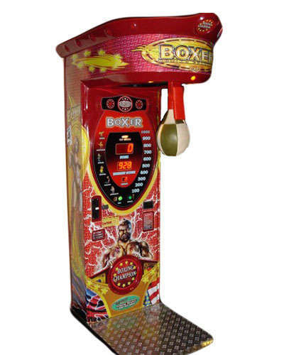 The Boxer game at Joystix