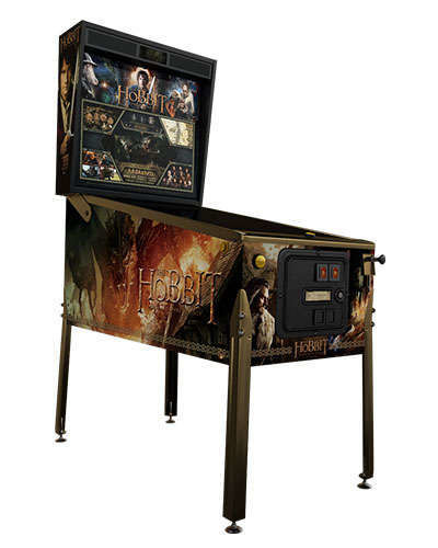 The Hobbit Smaug Edition pinball at Joystix