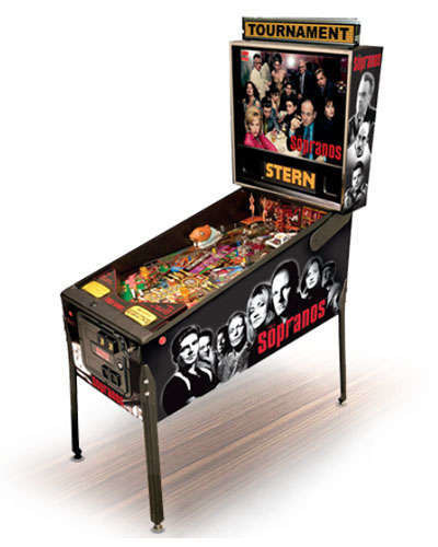 The Sopranos pinball at Joystix