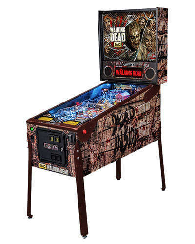 The Walking Dead Limited Edition Pinball 2 at Joystix