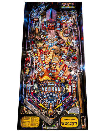 The Walking Dead Limited Edition Pinball Playfield at Joystix