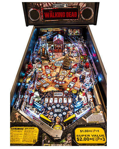 The Walking Dead Limited Edition Pinball details 1 at Joystix