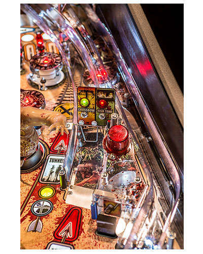The Walking Dead Limited Edition Pinball details 4 at Joystix