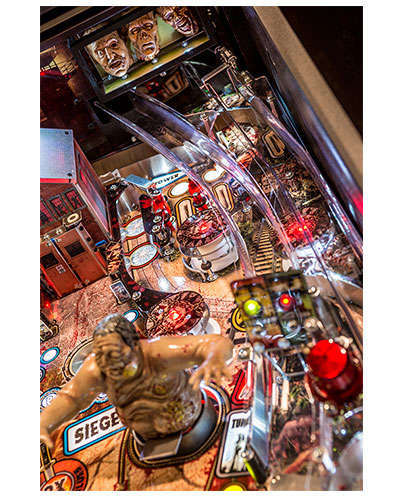 The Walking Dead Limited Edition Pinball details 5 at Joystix