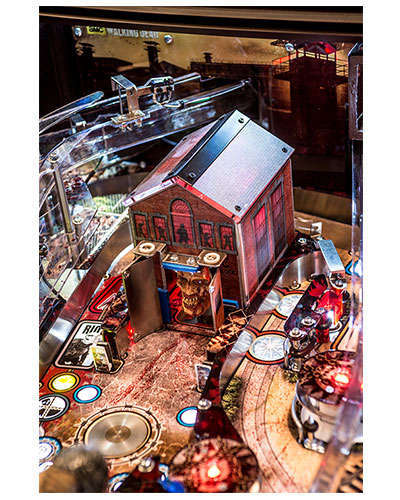 The Walking Dead Limited Edition Pinball details 6 at Joystix