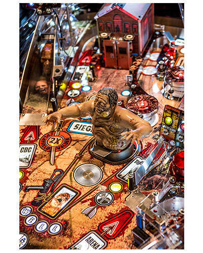 The Walking Dead Limited Edition Pinball details 7 at Joystix