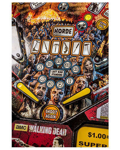The Walking Dead Pro Pinball details 2 at Joystix