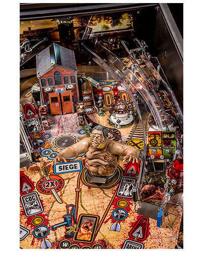 The Walking Dead Pro Pinball details 3 at Joystix