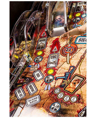 The Walking Dead Pro Pinball details 5 at Joystix