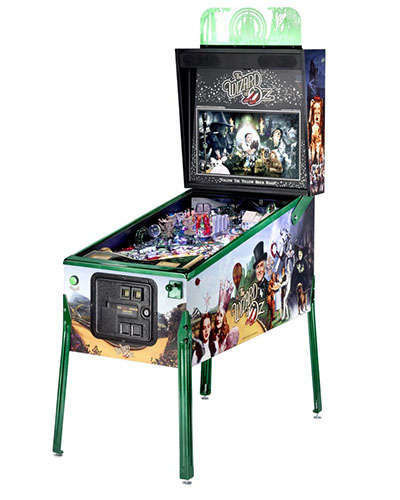 The Wizard of Oz Emerald Edition pinball at Joystix