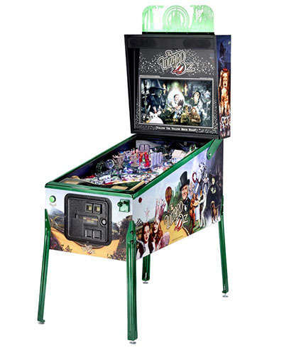 The Wizard of Oz Emerald Edition pinball at Joystix