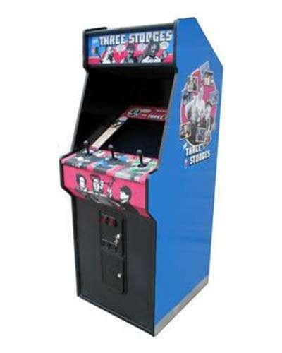 Three Stooges arcade game at Joystix