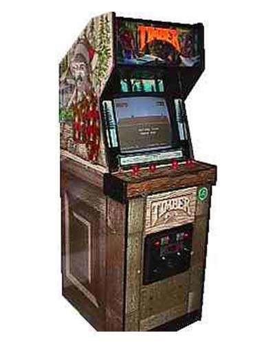 Timber arcade game at Joystix