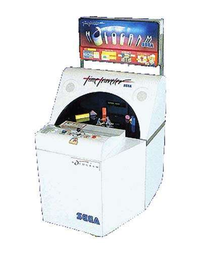 Time Traveler Hologram arcade game at Joystix