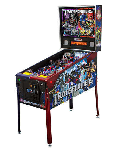 Transformers LE pinball at Joystix