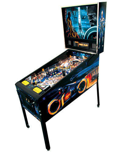 Tron Limited Edition pinball at Joystix