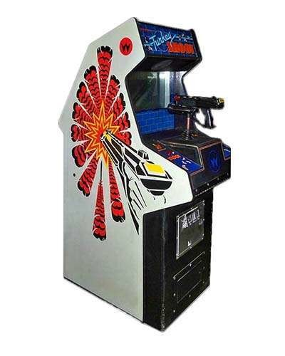 Turkey Shoot arcade game at Joystix