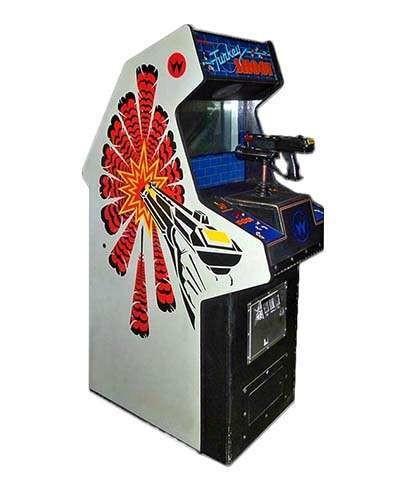 Turkey Shoot arcade game at Joystix