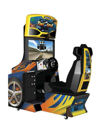 Twisted Nitro racing game at Joystix