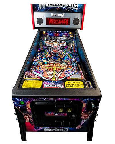 WWE Wrestlemania Pro Pinball game details 1 at Joystix